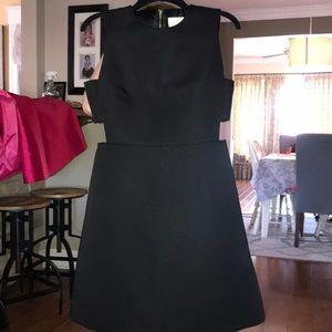 Kate spade black dress with cutouts